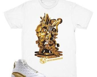 """Jordan DMP """"Moments"""" Tee Shirt : Defining Moments Pack-Jordan 13/Jordan 14"""