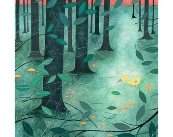 "Postcard ""Forest"""