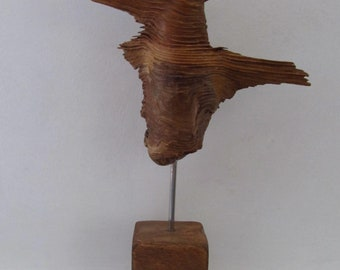 unusual natural wood sculpture - littlewood