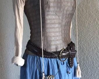Women's Hannah Pirate Halloween Costume - Small 6