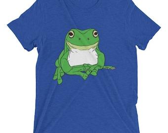 Stickyfrogs Blue Gumby Frog T-shirt