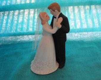 Bride and Groom Cake Topper Lefton #04965