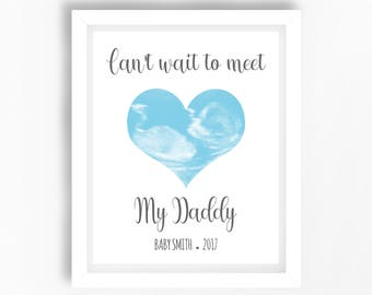 Present for dad from unborn baby