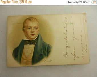 Easter Sale Vintage Scott Postcard Postal History