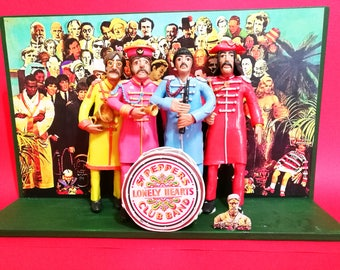Statuette - Action Figures The Beatles - Sgt. Pepper's Lonely Hearts Club Band