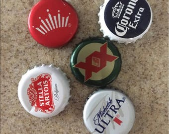 5 Beer Top Magnets