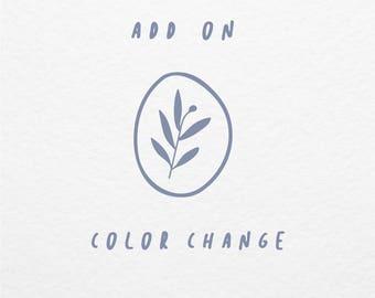 Add On Option :  Color Change for Logo Design