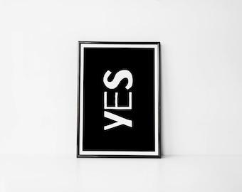 YES | Art Prints