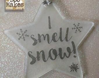 I Smell Snow! Star Christmas Tree Decoration | Gilmore Girls star