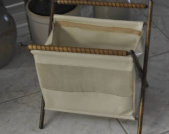 Vintage Yarn/Sewing Hamper