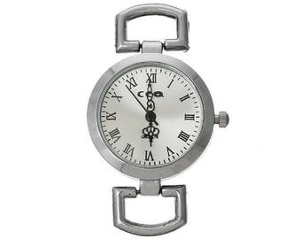 Dial Watch with battery accessory oval 5cm x3cm