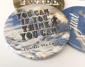 You Can Motivational Quote Magnet