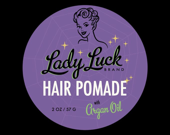 NEW! Lady Luck Brand Hair Pomade • Halloween Edition