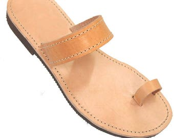 Greek Leather Sandals - Women Handmade Greek Sandals. Promo Offer --  Tracking number is included in the price.