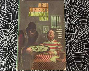 Alfred Hitchcock's A HANGMAN'S DOZEN (Paperback Anthology)