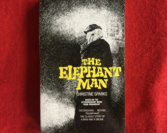 THE ELEPHANT MAN (Paperback Novelization by Christine Sparks)