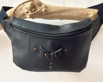 hipbag • BURN X •  fannypack festival bag studs small bag mens bag