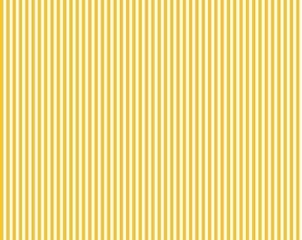 "1/2 Yard Riley Blake Basic Stripes 1/8"" Mustard 495"