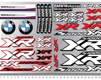S Xr Decals Etsy - Bmw motorrad motorsport decals