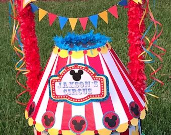 Custom Piñata Circus Theme