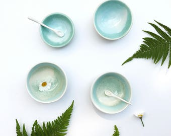 Glazed mini dishes