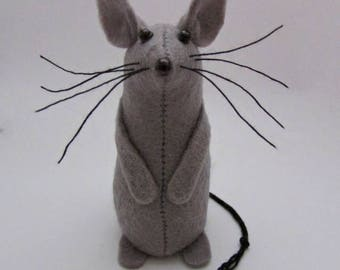 Felt Mouse - Felt Mice - Mouse Ornament, Mouse Gift, Gift for Mouse Lover
