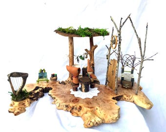 Fairy House, Gnome House, Dollhouse, Natural Toy, Waldorf