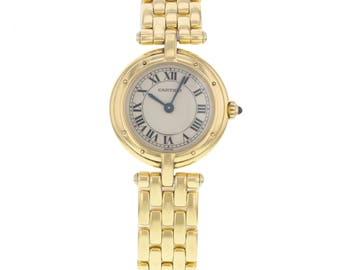 Cartier Panthere Vendome Cougar 8057921 18K Yellow Gold Quartz Ladies Watch