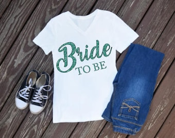 Bride To Be Iron On Decal / bride iron on / wedding iron on / bride / bride to be