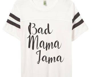 Lindo   Mamá   Camiseta   Nueva mamá   años 90 camisa   Ropa para mujer   El Original   El Remix   Bad Mama Jama   Camisetas   Tops y camisetas