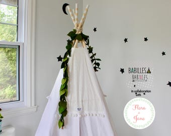 Teepee topper- BOHO style - Teepee ornement