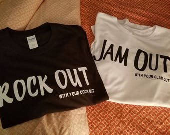 Jam out with your clam out tshirt