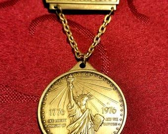 Large Ansbach Vintage German Volksmarsch Medal