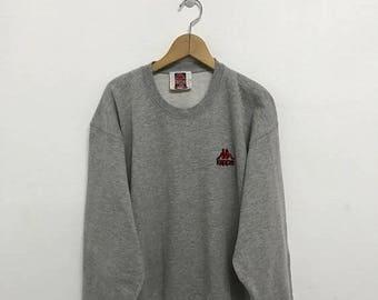 20% OFF Vintage Kappa Embroidery Logo Sweatshirt/Kappa Italia/Kappa Clothing/Kappa Pullover/Kappa Sportwear