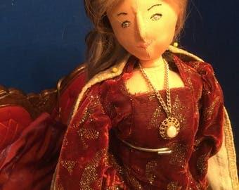 Handmade Cloth Doll Marguerite