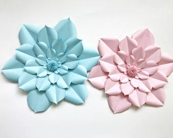 Large Paper Flower, Paper Flower, Home Decor, Gift Wrapping, Party Decoration, Party, Gift Idea, Flower, Birthday, Wedding, Nursery