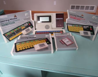 Vintage Vtech Learning Window & Software 1986 Free Shipping