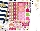 Sherbet Collection Sampler Planner Stickers! Set of 37! KT412