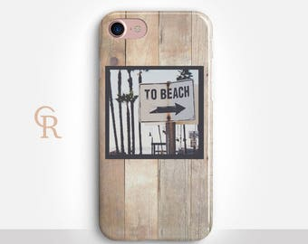 Beach Phone Case For iPhone 8 iPhone 8 Plus iPhone X Phone 7 Plus iPhone 6 iPhone 6S  iPhone SE Samsung S8 iPhone 5 Summer Holiday Vacation
