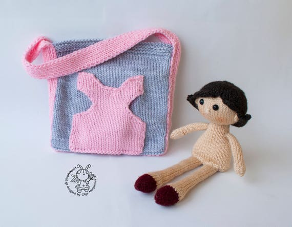 how to make a doll handbag