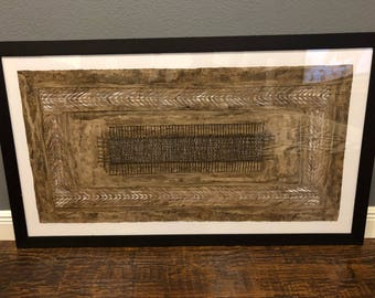 Mexican Amate or HandCrafted Bark Paper (Frame not Included)