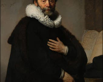 Poster, Many Sizes Available; Portrait Of Johannes Wtenbogaert (1557-1644), Remonstrant Minister By Rembrandt