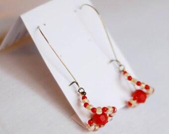 Pearl swing - earrings for women
