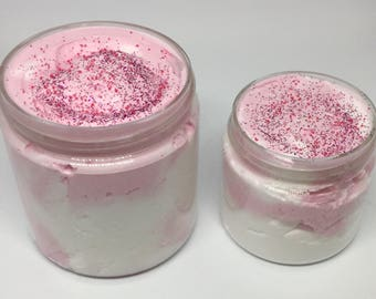 Pink Sugar Whipped Cream Soap - 4 or 8oz