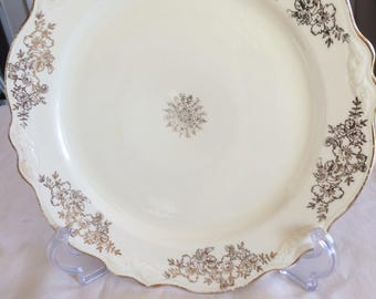 Vintage homer and Laughlin dinner plates