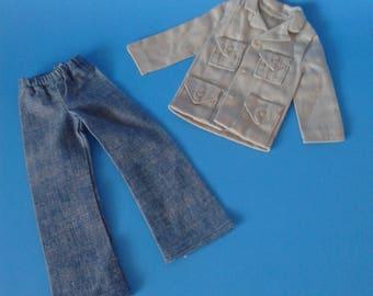 "Barbie Vintage "" Fashion Doll / Clone Clothing KEN "" 1960's/1970's"