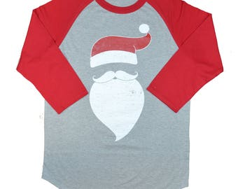 Bearded Santa 3/4 Sleeve Raglan was 32.25 NOW 16.47