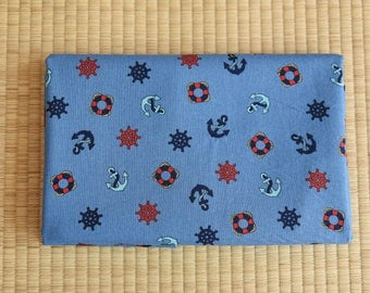navy Fabric 1/2 yard