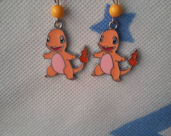 Pokemon Charmander earring