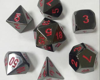 DND Dice set-Polyhedral Dice Set,GLOW dice for Dungeons & Dragons